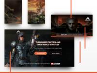 SnapShot Games | Landing Page