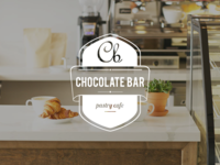 Chocolate Bar Pastry Cafe Branding