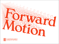 Forward Movement >>>>>>>>>>