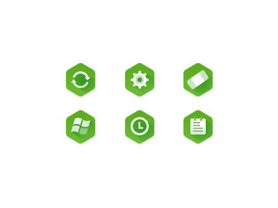 Flaticon flat green icon setting patch time file windows