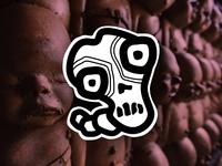 Skull Boi Sticker