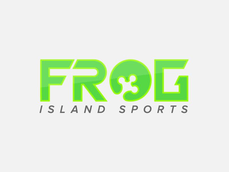 Frog Island Sports Logo