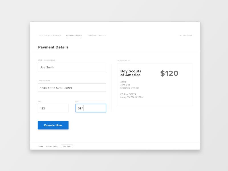 UI.002  - Card Payment