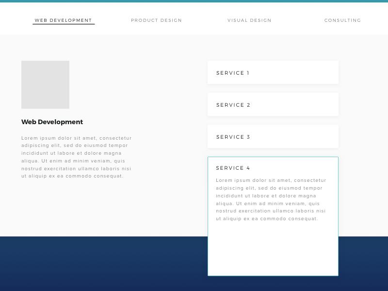 AP.UI.002 - Web Services Accordion