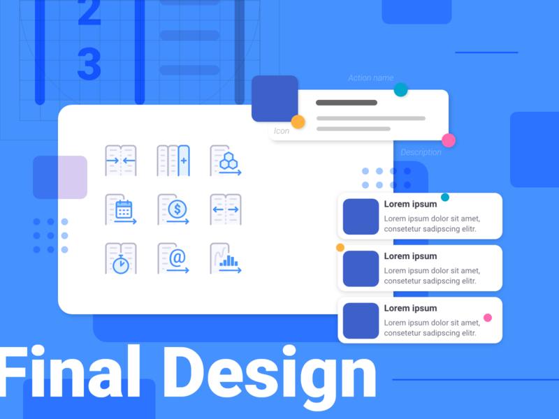 Anasen: Web-App Icons (Part 8/8) interface user set study case processing analysis data website web app ui design icon