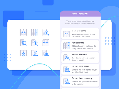 Anasen: Web-App Icons (Part 8+1) interface user set study case processing analysis data website web app ui design icon