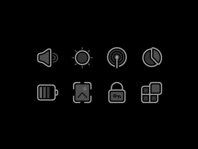 Device settings fajrfitr fajr fitr fajrul fitrianto line filled app security wallpaper battery storage connection brightness volume icon set settings device pictogram iconography icon design icon