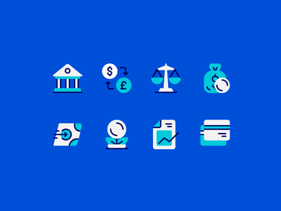 Finance & banking payment investment interest credit card money transaction business bank banking finance fajrfitr fajr fitr fajrul fitrianto ui user interface pictogram iconography icon set icon design icon