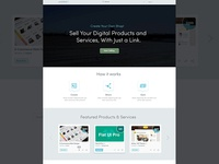 Ecommerce Home Page