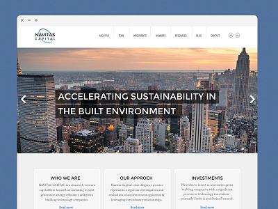Navitas Capital Website website ui ux interface financial website