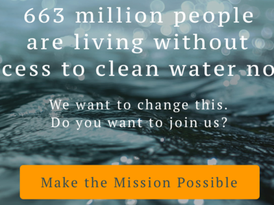 Water Mission - Landing Page