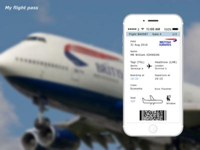 024 Boarding Pass My Flight Pass