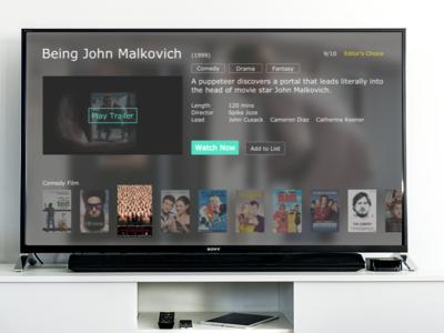 Watch now TV App
