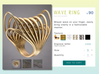 Customize Your Wave Ring
