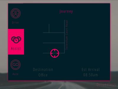 Driverless Car Interface