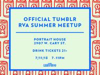 Richmond Meetup Invitation flyer.
