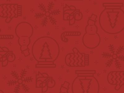 Holiday Pattern illustration pattern holiday winter christmas
