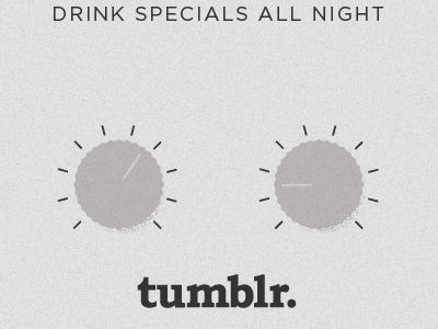 Knobs. typography illustrator knobs retro tumblr