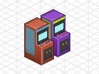 Pixel Art arcade