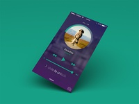 Music Player - iPhone Lockscreen