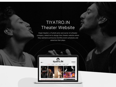 Tiyatro.in Website Design design web design ui