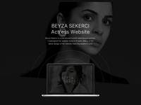 Official Celebrity Website Design ui design web design design ui