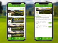 FIND A GAME - Golf App