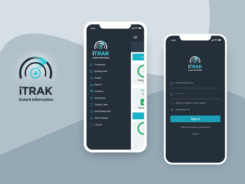 iTrak - App ios android design corrective findings locations gps signatures photos capture inspection