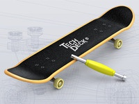 Finger Skate Boarding