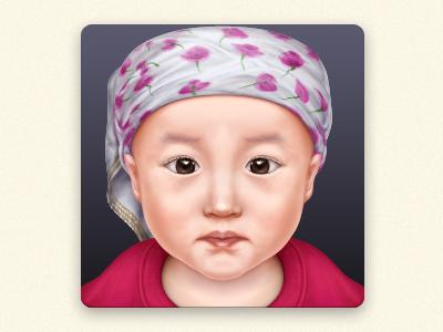 My daughter 苗苗 icon n0dk4ne