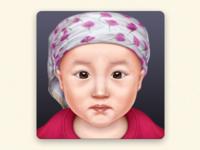 My daughter 苗苗