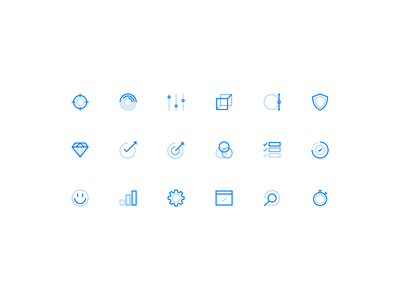 Coletiv website icons website web design ui grid iconography icons