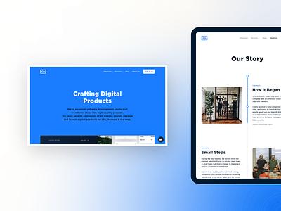 Coletiv website responsive web design ui coletiv desktop website web