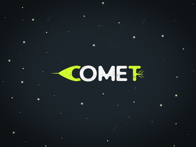 Comet Logo #dailylogochallenge