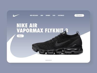 Nike Web Design