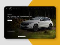 Mercedes-Benz Web Design