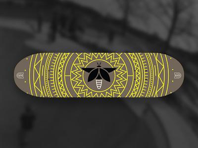 TSU Firefly Skatedeck Concept skate skatedeck geometric