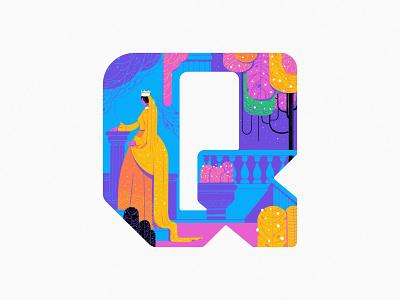Q 2020 branding typography logo 36daysoftype design art illustration