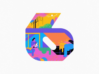 6 2020 6 branding 36daysoftype typography home design art illustration