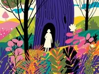Secrets 🌸 experiments colour scribble sunday secrets design art illustration