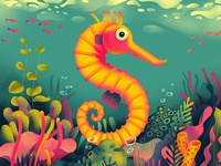S for Seahorse