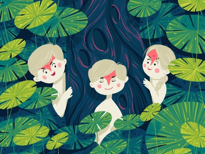 Princes and princess design prince princess plants hiwow illustration