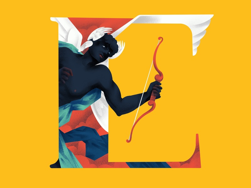 E R O S 36daysoftype typography eros illustration
