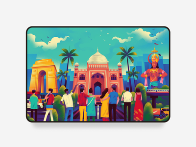 Culture Trip Exploration brand identity mobile typography webdesign animation art explore ux ui city delhi bangalore culturetrip website design branding illustration