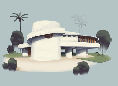 Arizona – David & Gladys Wright House (1950)