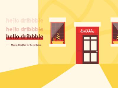 hello dribbble  1