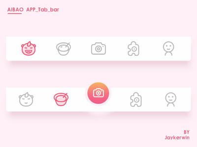 AIBAO tab bar