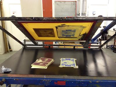 Printing Zine Covers Process