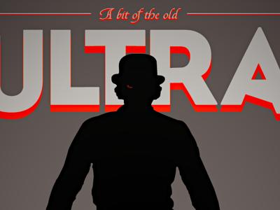 Ultra Violence print art poster a clockwork orange orange black grey alex de large kubrick film movies