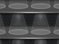 Metal iPhone 4 AppShelf Background